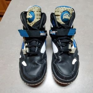 Vintage Reebok Pump Basketball Shoes